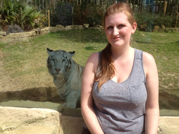 Sarah At The Zoo