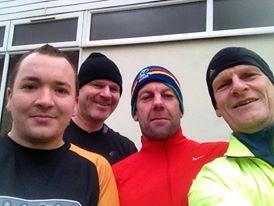 Great Train Robbers: Me, Nigel, Rob, Tony.